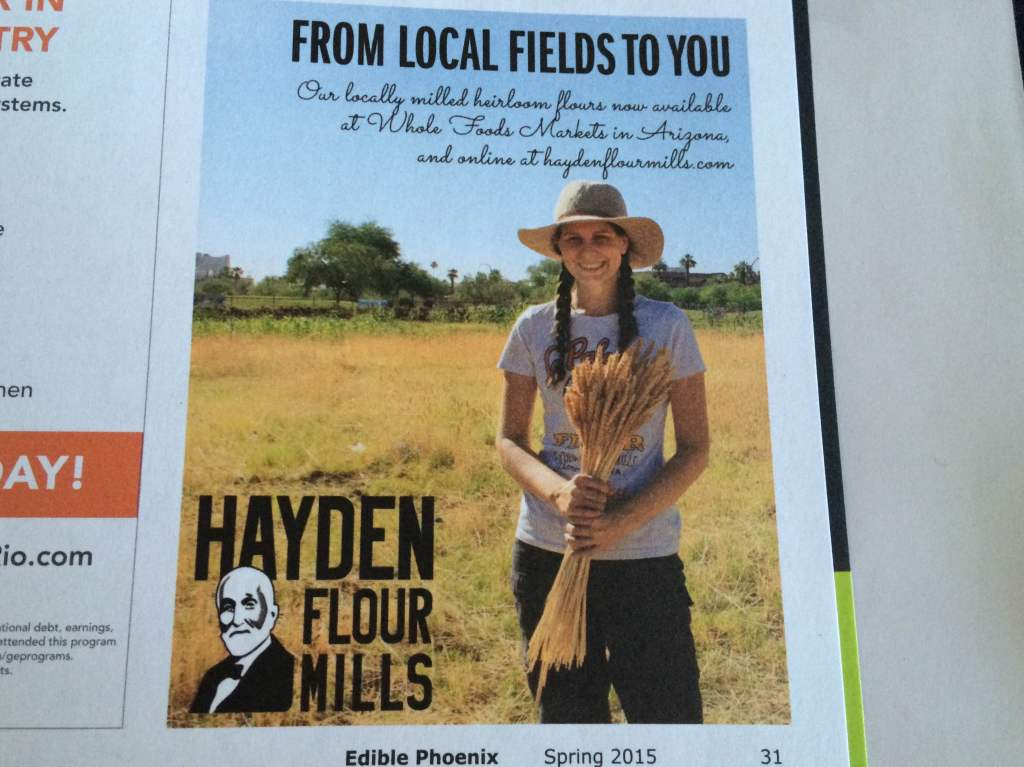 hayden flour ad