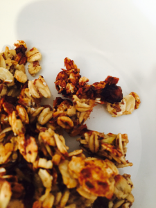 Crunchy Banana Granola by Carolyn Flower