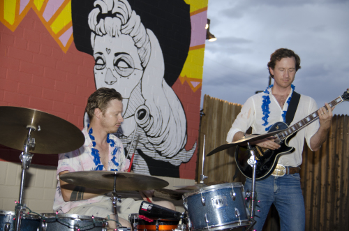 Hey Bucko!'s live performance at the Tucson Cowboy Monsoon Luau in 2015.
