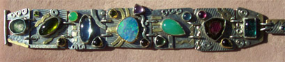 Mixed Stone Bracelet from Designs by Owen