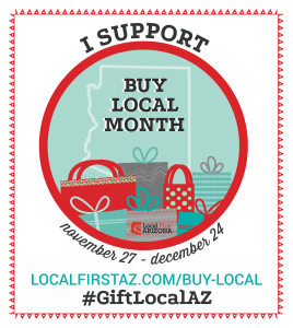 Buy Local Month Badge Print