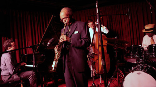 Jimmy Heath, one of the headline acts at this year's Jazz Festival.