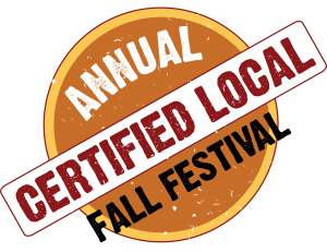 Certified Local Fall Fest Generic logo