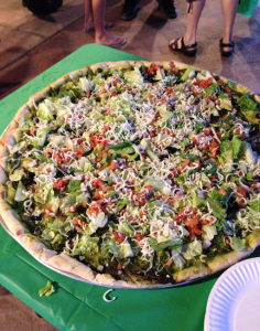 mama's veggie pizza