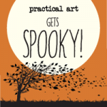 practical art halloween