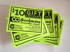 Bookmans Gift Cards