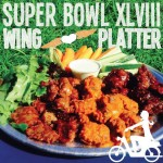 green super bowl wings