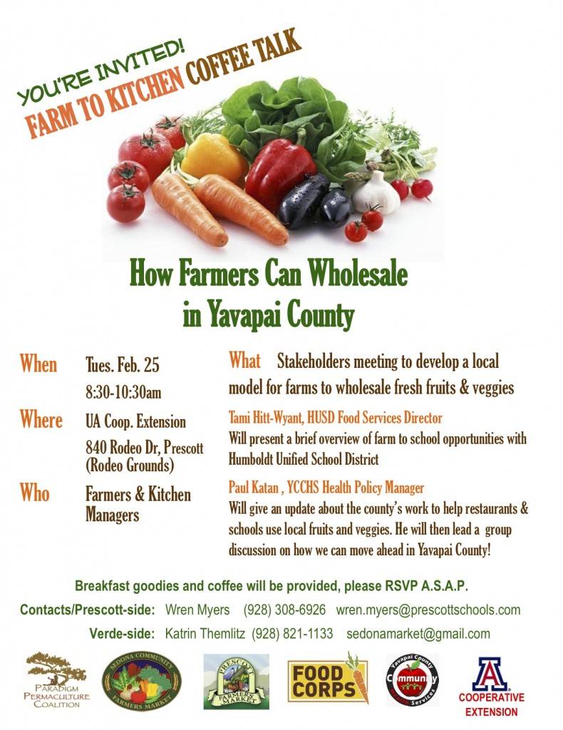 Farmers Coffee Talk-Feb-25. 2014