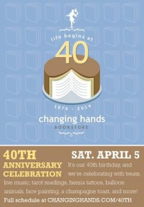 40th anniversary changing hands