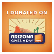 I donated az gives day