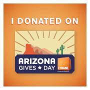I donated az gives day