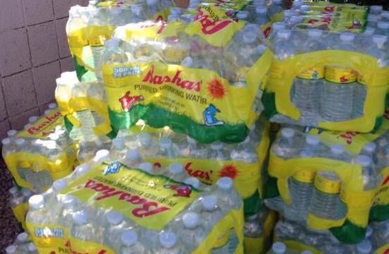 bottled water bashas