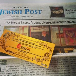 AZ Jewish Post Indie Week Golden Coupon