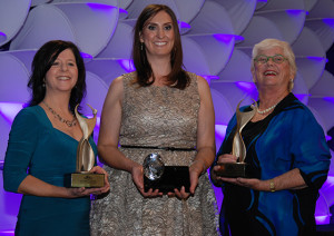 LFA Director Kimber Lanning was the 2013 ATHENA Award winner for the public sector.