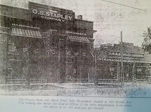 GAF OS STAPLEY 1920s