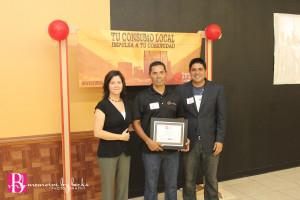 2014 Graduation Graduate with Kimber and Carlos