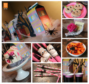 Box Play for Kids Ghoulish Girly Girl Halloween Party