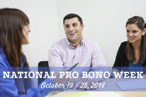 National Pro Bono Week