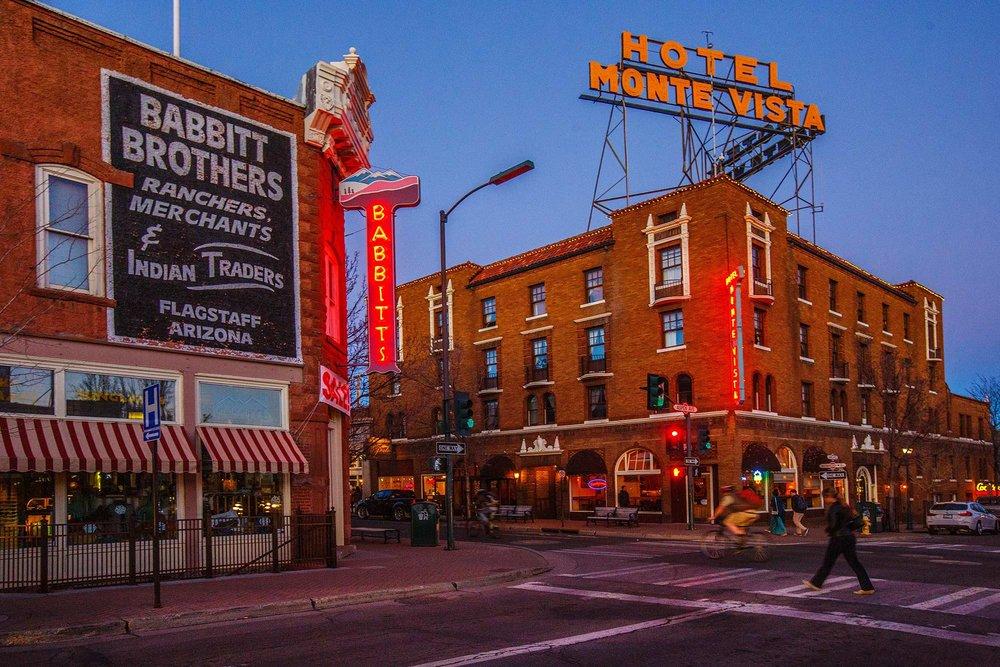 Downtown Flagstaff, AZ
