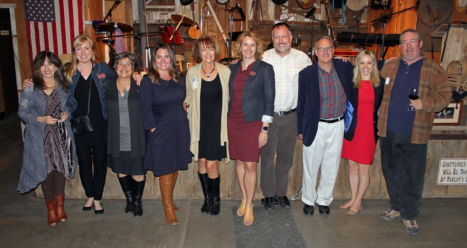 Members of the Sedona Verde Valley Tourism Council, representatives from National Geographic, and presenters from Arizona Office of Tourism and the Global Sustainable Tourism Council.