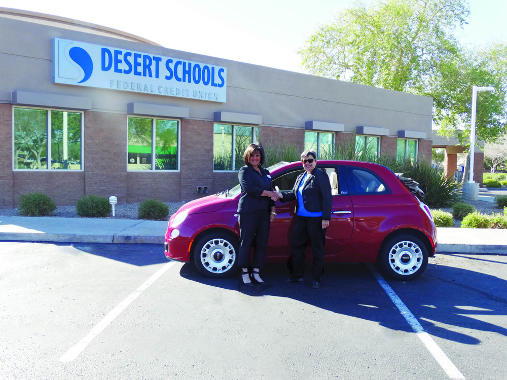Giselle Aguiar, of AZ Social Media Wiz, recently refinanced her car with Desert Schools Credit Union.