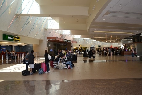 The Phoenix Sky Harbor Airport, an LFA partner for Small Wonders Map Distribution