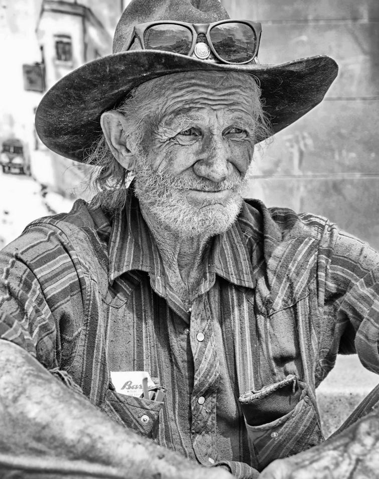 Portrait by Don Jones