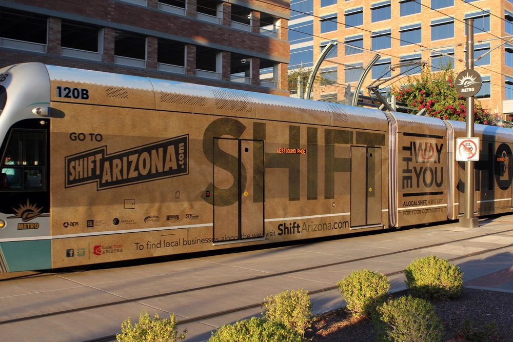 2010: Local First Arizona launches the Shift Arizona campaign.