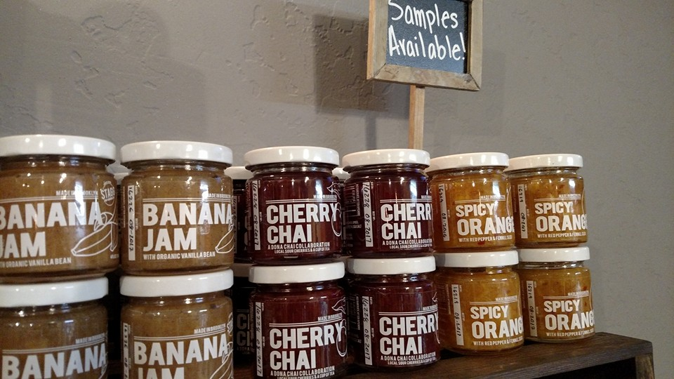 Cherry Chai, Spicy Orange & Banana w/ Vanilla Bean Stagg Jam. Handmade in small batches with love in Brooklyn.