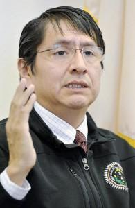 Navajo Nation Vice President, Jonathan Nez.