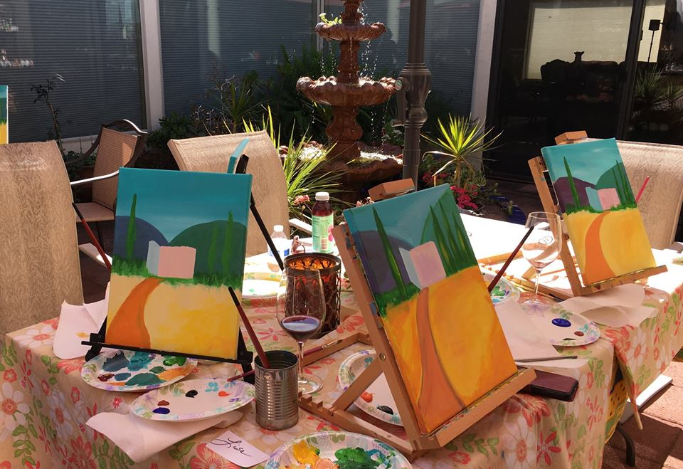 Perfectly Personal Paint Parties