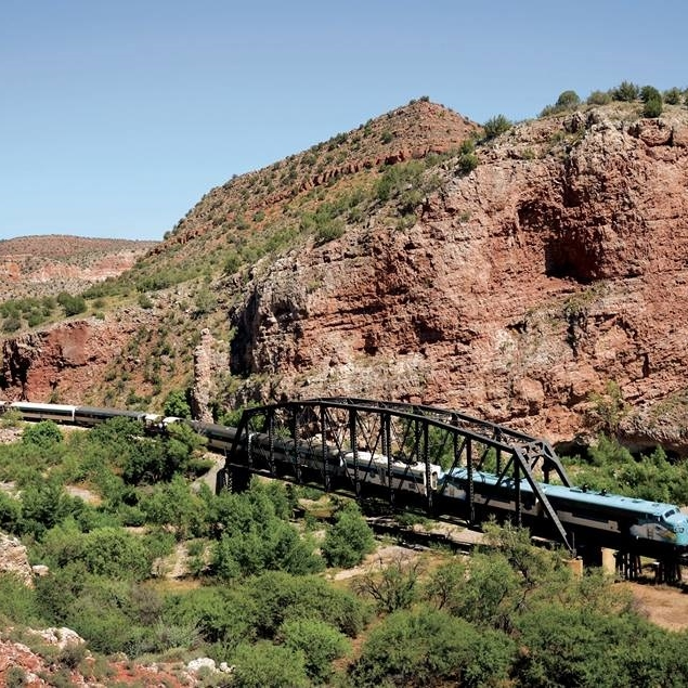 Verde Canyon Railroad, Clarkdale -  20% discount off of First Class tickets   *only applies to first class rides during the month of July