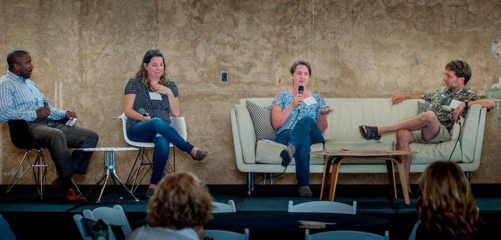 Panelists speak at the 2016 SOCENT Summit. Photo Credit: Rick D'elia, D'Elia Photographic