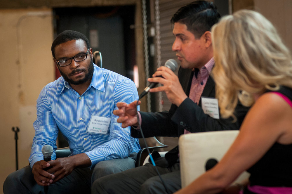 Panelist Carlos Velasco speaks at the 2016 SOCENT Summit. Photo Credit: Rick D'elia, D'Elia Photographic