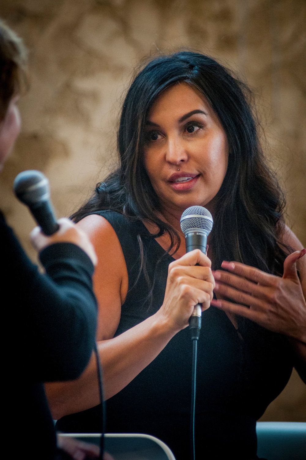 Stephanie Vasquez presents at the 2016 SOCENT Summit. Photo Credit: Rick D'Elia, D'Elia Photographic