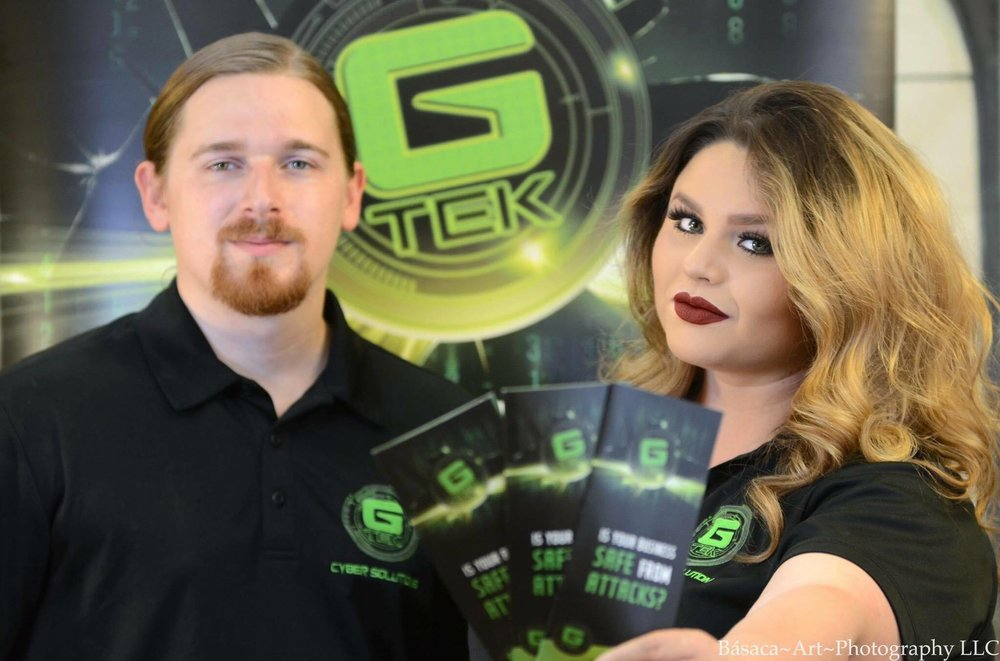 Jon Fernandez and Angela Solorio, co-founders of GeekiTek