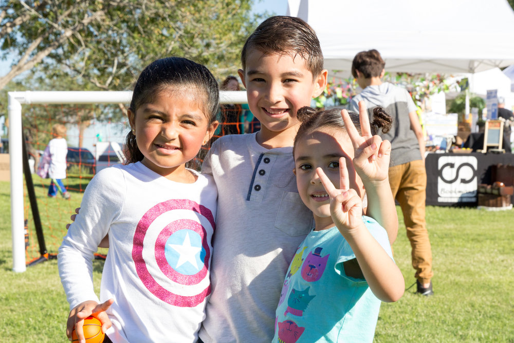 Kids enjoy the 2016 Fall Fest. Credit: Harrison Lai Photography.