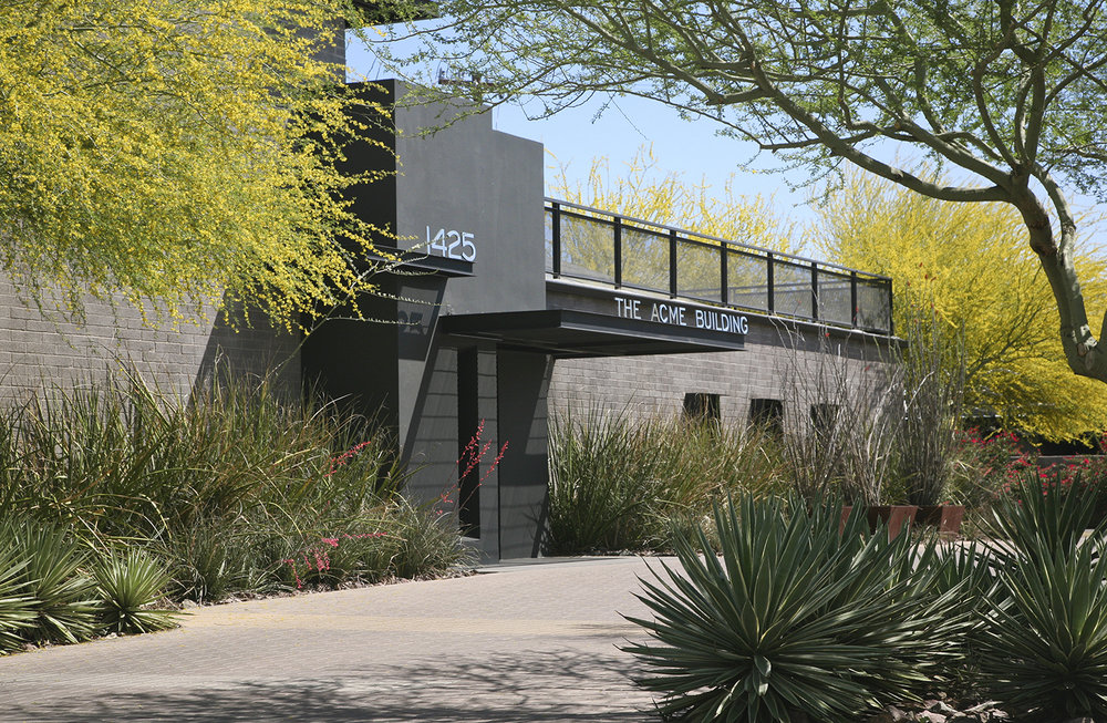"""Levitt Building,"" Midtown Phoenix, landscape architecture, Floor & Associates"