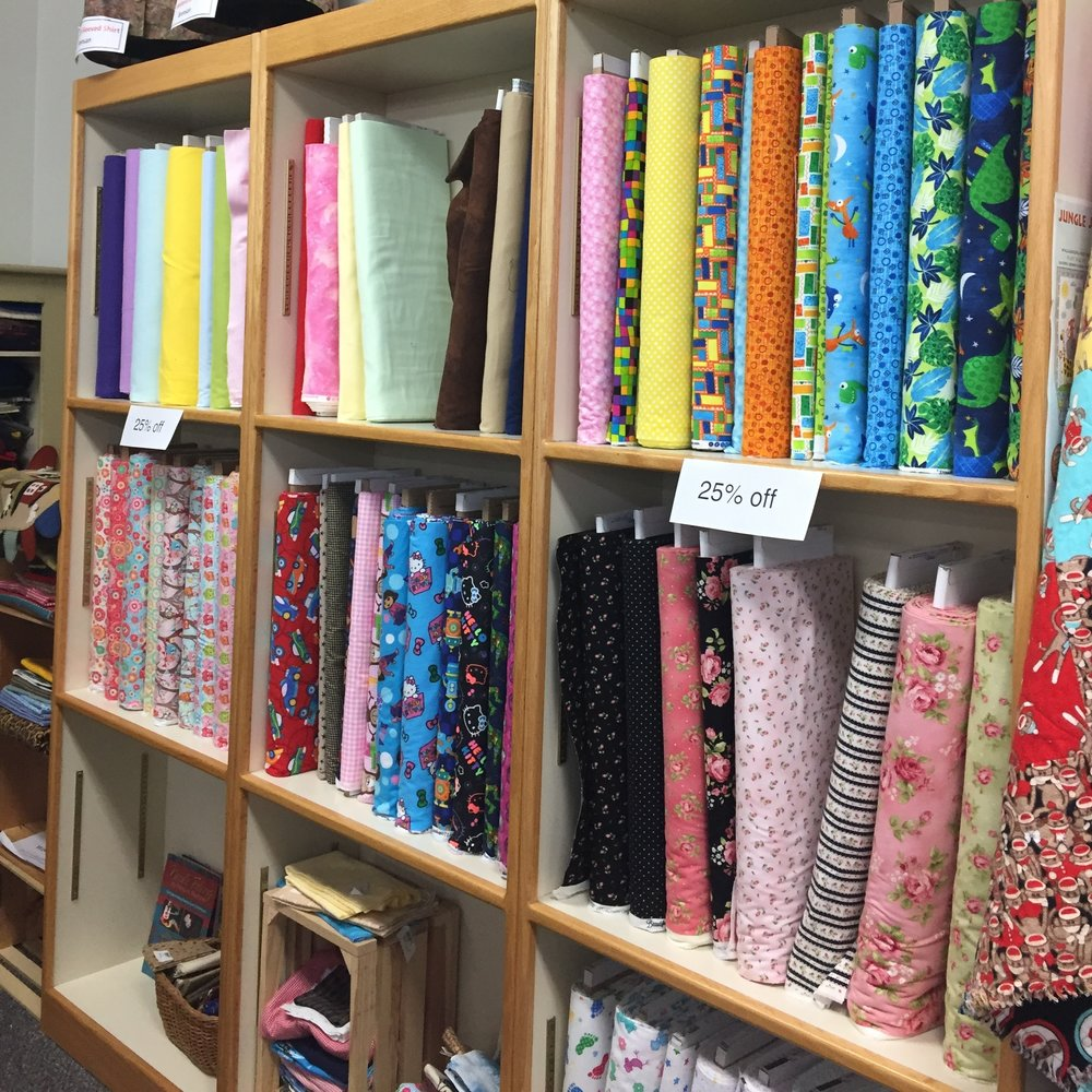 Fabric Quilter's Quarters currently stocks over 3,000 bolts of sought after fabrics with new lines coming in every week. Check out their incredible lines of high quality, vibrant fabric that you can't find anywhere else in the Verde Valley. By shopping locally for your sewing needs, you keep dollars recirculating locally, help create jobs, and build community at the same time.