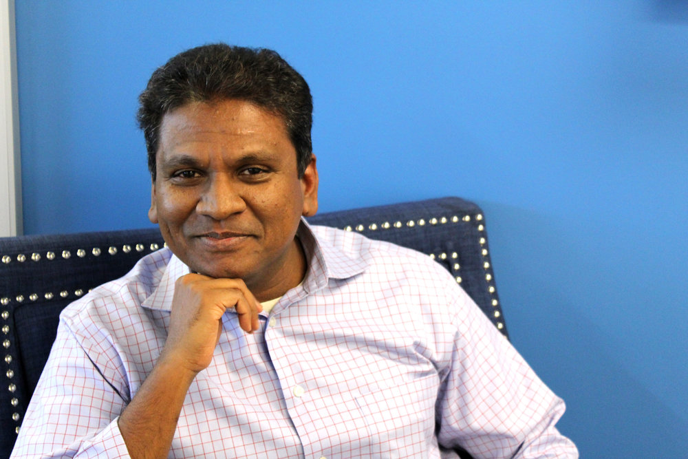 Thiru Thangarathinam, founder and CEO of MST Solutions, credits his success to the attention he places on the three C's, Customers, Colleagues and Community.