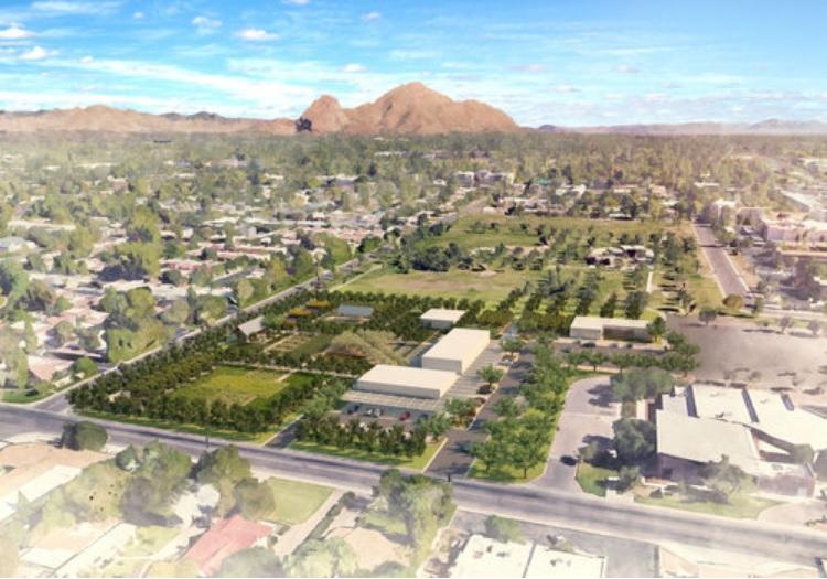 Los Olivos Park rendering, courtesy of Greenbelt Hospitality