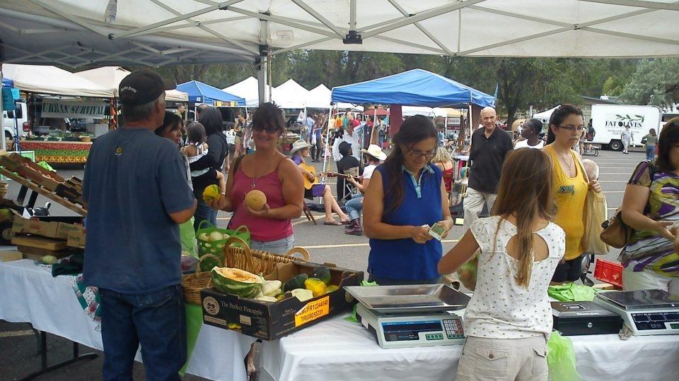 Sunnyside Community Farmers Market, Flagstaff, AZ
