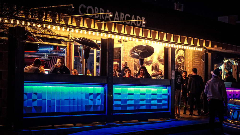 Cobra Arcade Bar - Local stop #2