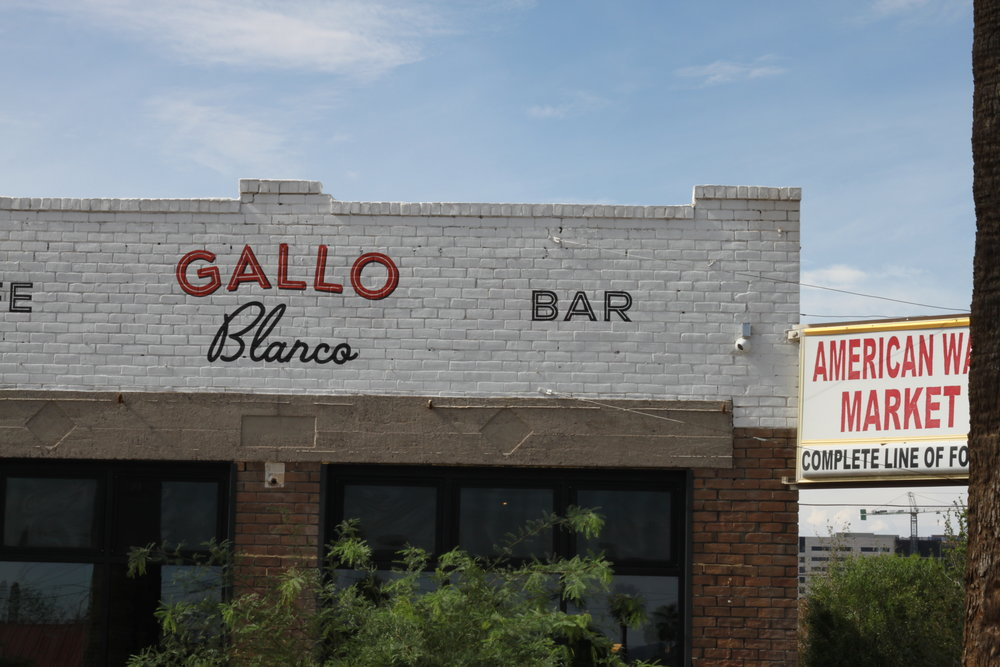 Gallo Blanco - Local Stop #4