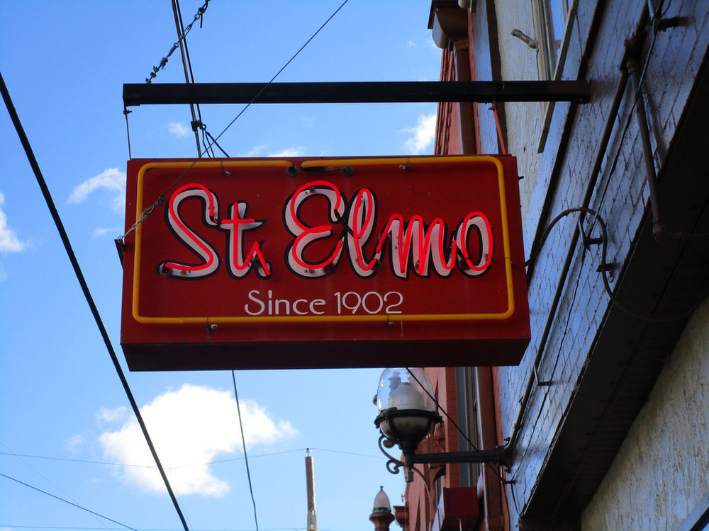 Opened in the historic area of downtown Bisbee in 1902, St. Elmo is the longest continually run bar in the state. If you're looking for a raunchy night out with your friends to throw back some drinks as you take turns singing Karaoke, there's no better place to go than here. St. Elmo's features live bands and performers every weekend, so don't forget to check their lineup as you line up to have some fun! -