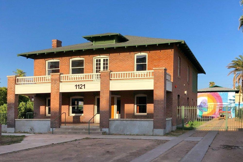 Historic Sarah H Pemberton House, Photo by Downtown Phoenix Inc