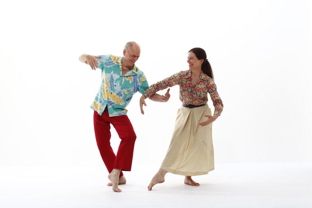 Photo of Douglas Dunn & Grazia Della-Terza by Tom Caravaglia, 2013