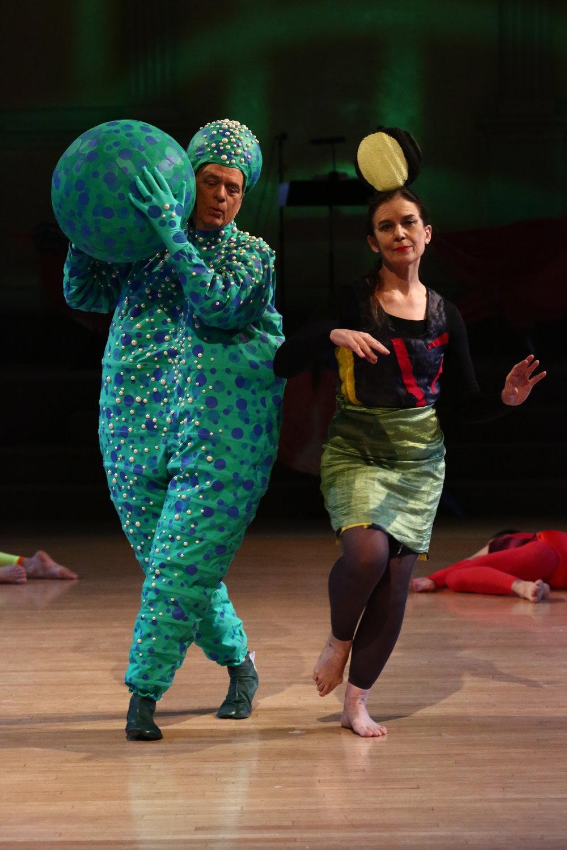 Dancers: Douglas Dunn & Grazia Della-Terza,Photo © Paula Court, 2017