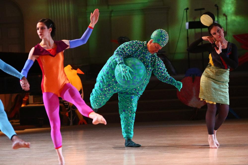 Dancers: Alexandra Berger, Douglas Dunn,Grazia Della-Terza,Photo © Paula Court, 2017