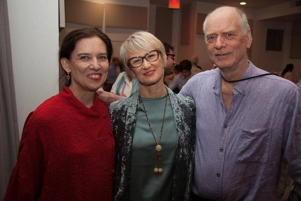 Grazia Della-Terza, Deborah Riley, Douglas Dunn, Photo by Jack Gordon, 2017